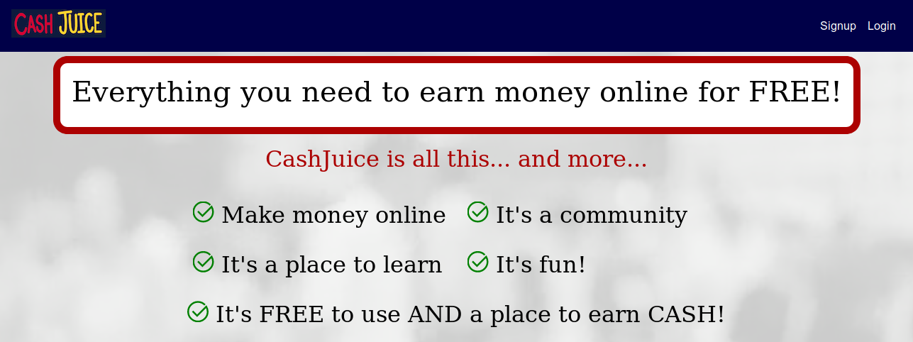 CashJuice Review - Current State